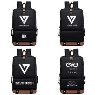 Seventeen and infinite Backpack