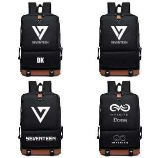 Seventeen and infinite Backpack