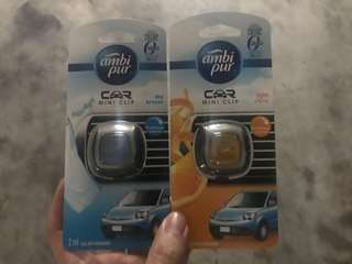 🚚 Ambi Pur clip on car air freshener