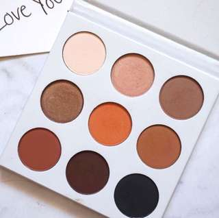 Kyshadow Bronze Palette by Kylie Jenner