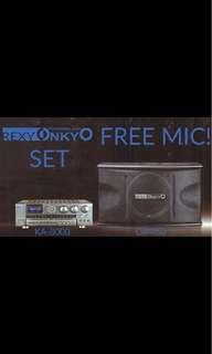 Rexy Onkyo Karaoke System 300wx2