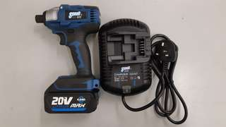 20V Brushless Cordless Impact Driver (20V 4.0Ah 鋰電充電無碳刷衝擊批)