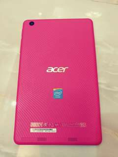 """Acer iconic one 7 7"""" tablet 7吋平板 粉紅色"""