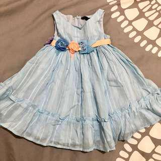 Periwinkle Baby Blue dress