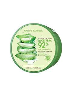 Brand new! Nature Republic Aloe Vera 92%