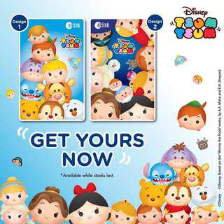 BN limited edition Tsum Tsum EZ-Link card