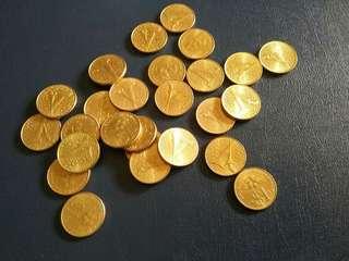 $1 Keris . UNC