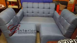 Sofa Set - Tufted