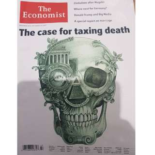 The Economist: The Case For Taxing Death #kanopixcarousell