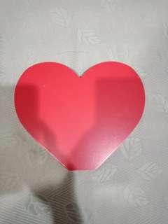 Love sign wooden block