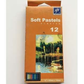 Firster Soft Pastels 12 Colors