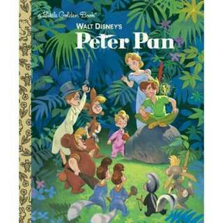🚚 Walt Disney's Peter Pan — a Little Golden Book (hardback)