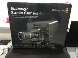 Blackmagic Design Studio 4K Camera MFT mount