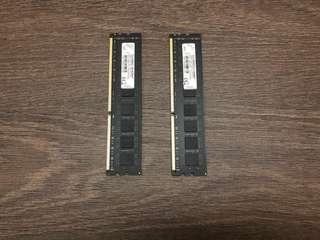 2x 4GB RAM 4GB DDR3 1333MHz CL9