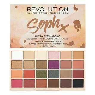 Soph X Revolution Eyeshadow Palette