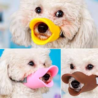 Silicon Muzzle for small dogs and puppies