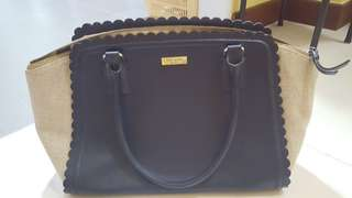Kate Spade navy shoulder bag