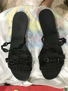 Authentic Hermes jelly sandals
