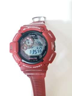 CASIO G-SHOCK WATCH G9300 指南針 光動能手錶 MUDMAN