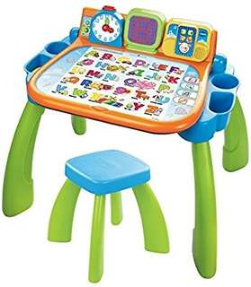 🚚 (Pre-Order)  VTech Touch and Learn Activity Desk Blue/Green