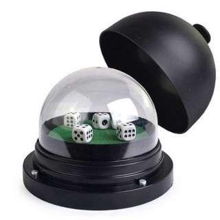 [廠商批發]14.3cm大號電動骰盅 骰子樂 骰子 吹牛骰盅 吹牛骰子 吹牛遊戲 賭神骰盅 KTV娛樂
