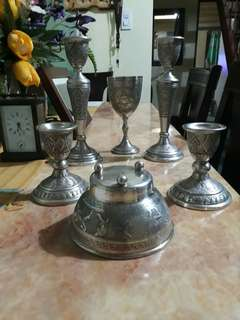 Rare Antique Persian Silver