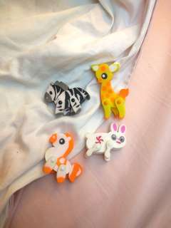 Cute animals erasers