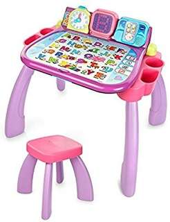 🚚 (Pre-Order)   VTech Touch & Learn Activity Desk - Purple