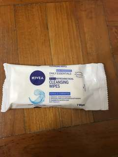🚚 Nivea Cleansing Wipes