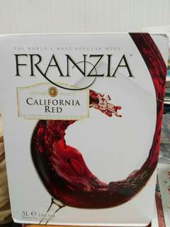 Franzia California Red 紅酒,3公升,Red Wine