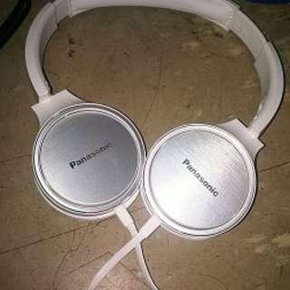 99%新 Panasonic 耳機 Overhead Stereo Headphone with Mic
