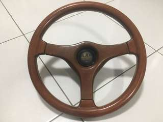 Steering walnut carrozzeria