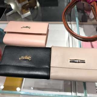 (歐洲代購)Longchamp皮銀包‼️