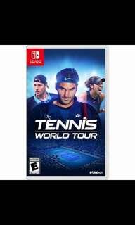 🚚 Nintendo Switch Tennis World Tour