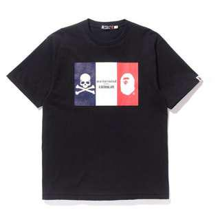 現貨 A BATHING APE x mastermind JAPAN  BAPE x MMJ法國限量紀念款 僅此一件