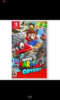 🚚 Mario Odyssey Nintendo Switch