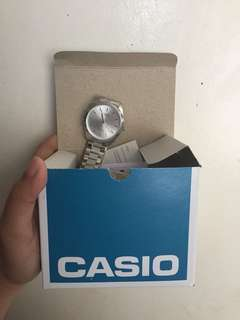 Casio watch Water resistant