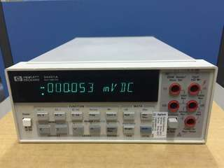 HP 34401A 6.5 Digits Digital Multimeter with GPIB & RS232 Interfaces