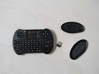 Mantistek usb keyboard and touchpad controller