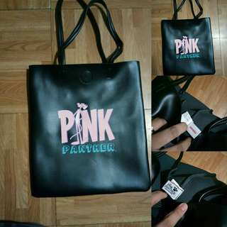 pink panther bag miniso