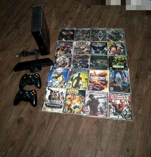 Mod Xbox 360 + 20 Games + 250GB HDD