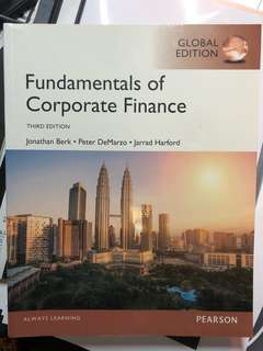 Fundamentals of Corporate Finance-Pearson