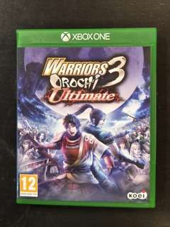 Xbox One Warrior Orochi 3 Ultimate