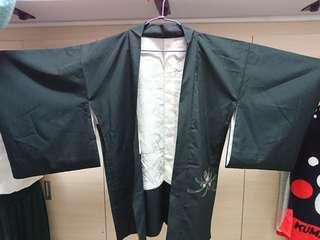 🚚 日本古著菊開羽織外套