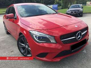 Mercedes-Benz CLA-Class CLA200 Shooting Brake