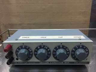 ED Laboratory CU-410A Decade Capacitor Box, 100pF-1uF, 250WV DC