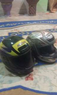 Helmet fullface.