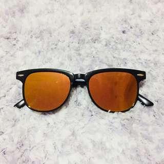 Tinted Flat Sunglasses