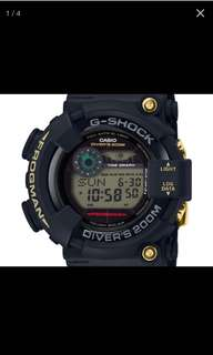 現貨全新 Casio G Shock Frogman 35th Anniversary GF-8235D 黑金
