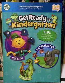 Leapfrog tag reading book - get ready for kindergarten